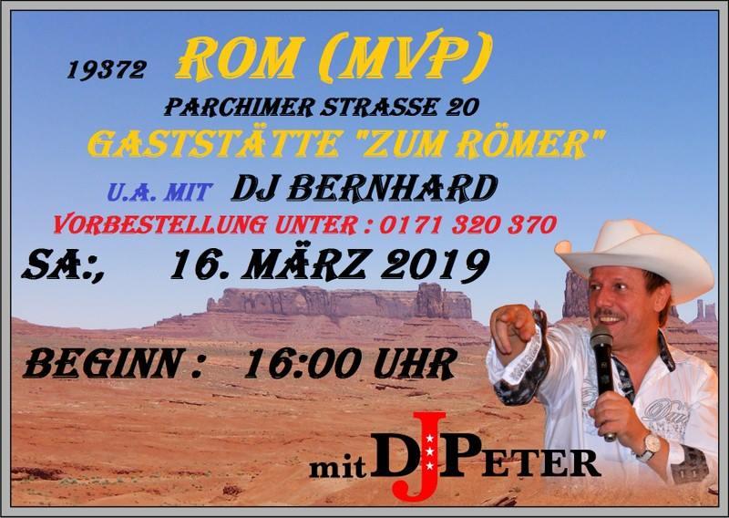DJ Peter in Rom