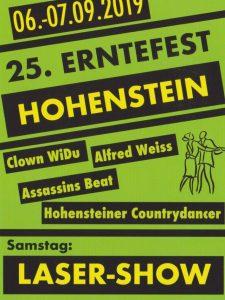 25. Erntefest Hohenstein bei Strausberg @ Hohenstein bei Strausberg