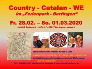 Country - Catalan Weekend Bertingen