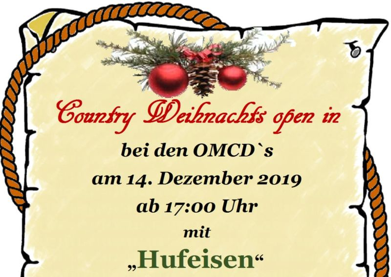 Country Weihnachts open in