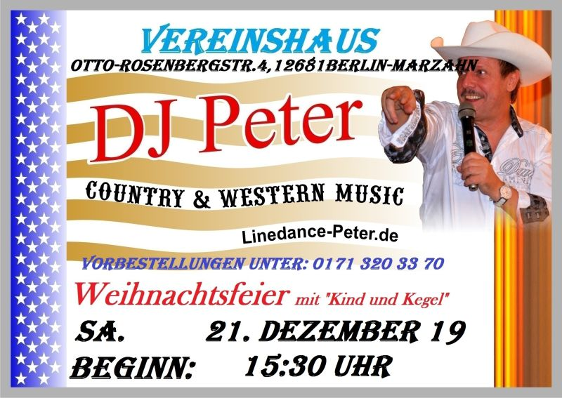 Weihnachten mit DJ Peter