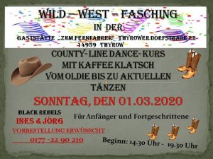 Wild West Fasching