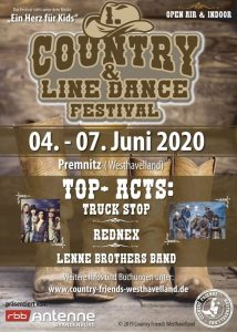 1. Country - und Linedance Festival in Premnitz