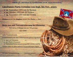 LD Party Termine OMCD
