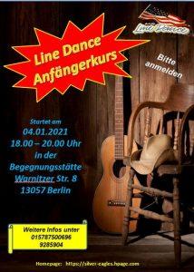 Linedance Anfängerkurs Warnitzerstr 8, 13057 Berlin