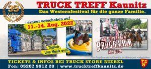 Truck Treff Kaunitz August 2021 auf August 2022 verschoben