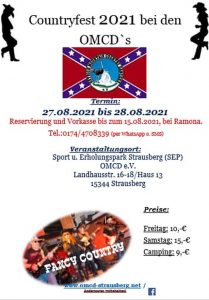 Contryfest OMCD in Strausberg