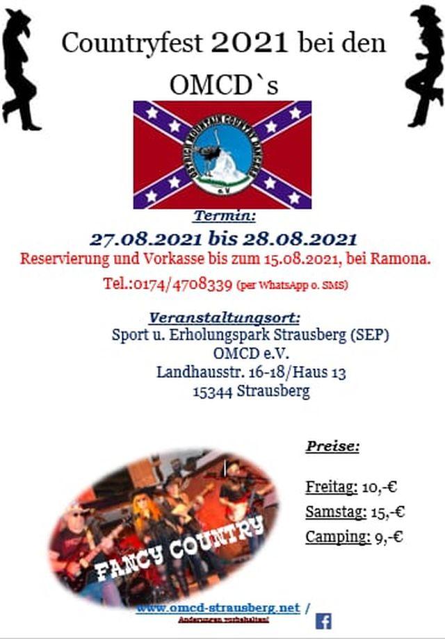 Country Sommerfest OMCD